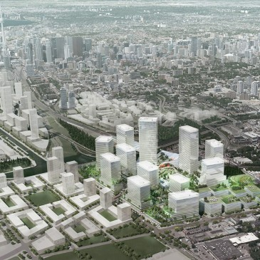 East Harbour Master Plan under review with City