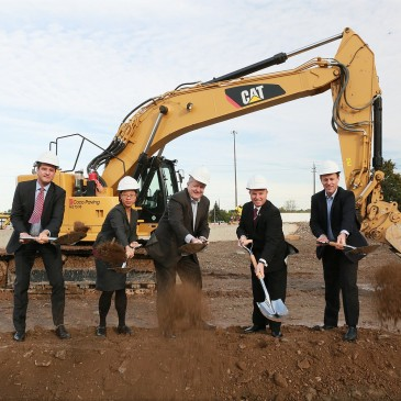 First Gulf breaks ground on new Oakville office building.