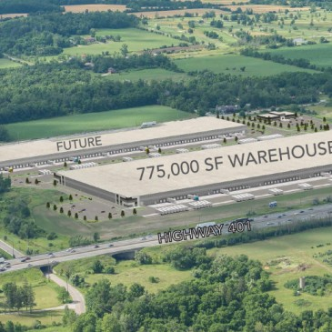 A New, 775,000 sf Warehouse