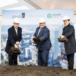 Premier Ford Thanks First Gulf at The Shift Groundbreaking