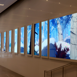 Groundbreaking digital art installation unveiled at 351 King Street East