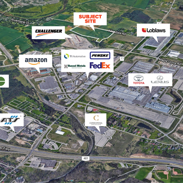 First Gulf, NWRE and Challenger Motor Freight partner on 52-acre industrial project
